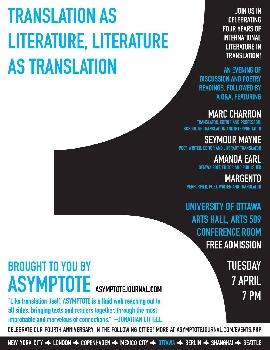 Translation as Literature, Literature as Translation